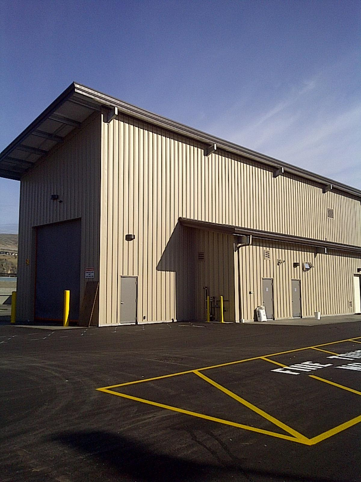 Bc Transit Commercial Steel Buildings Metal Structure