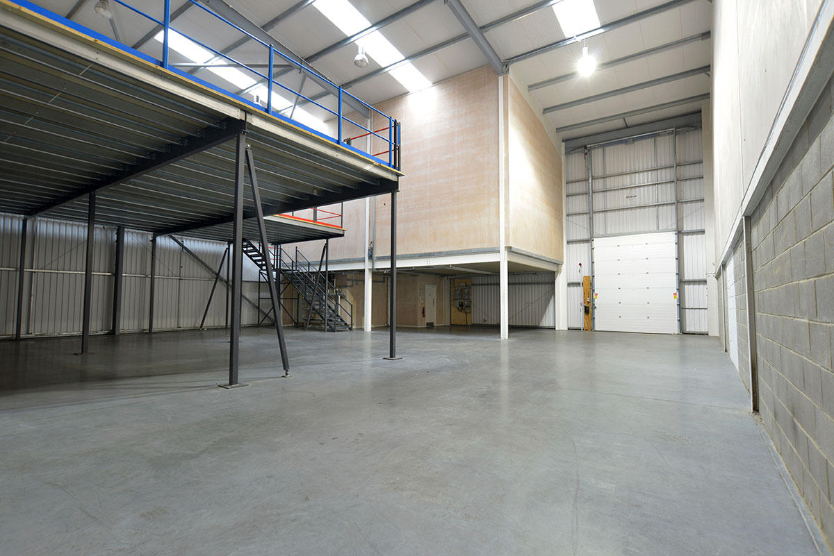 Pre engineered metal buildings increasing floor space for How to build a mezzanine floor in your home