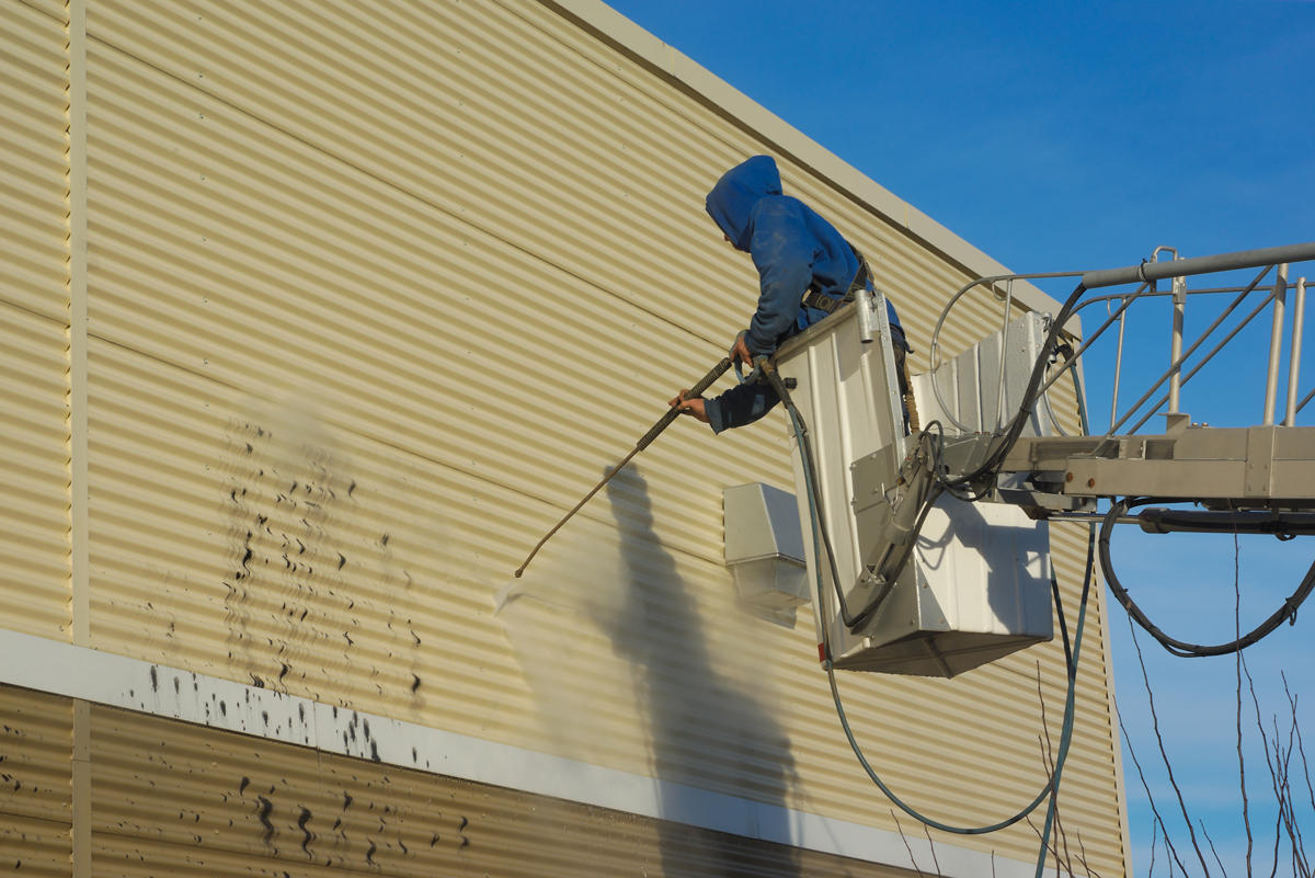 Spring Cleaning Maintaining Your Steel Buildings Msc Metal Wiring A Building